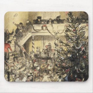 Christmas Party Mouse Pad
