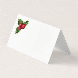 Christmas Party Name Place Card