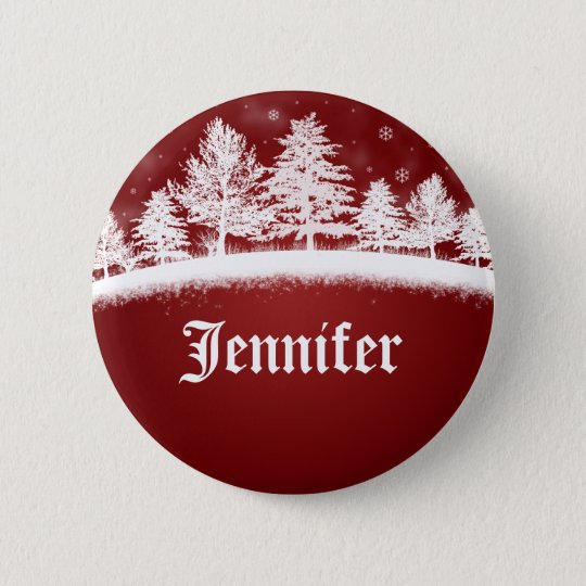 christmas party name tags button zazzle com