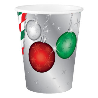 Christmas Party Ornament invitation Paper Cup