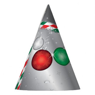 Christmas Party Ornament invitation Party Hat