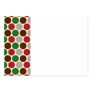 Christmas Party Polka Dots Business Card