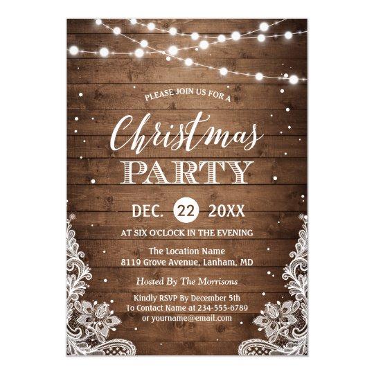 Christmas Party Invitations – Christmas Card Invites