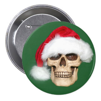 Christmas past pinback button