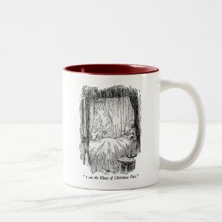 Christmas Past (with text) Two-Tone Coffee Mug