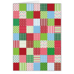 Christmas Patchwork Greeting Cards