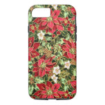 Christmas pattern floral iPhone 7 barely there cas iPhone 8/7 Case