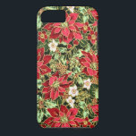 "Christmas pattern floral iPhone 7 barely there cas iPhone 8/7 Case<br><div class=""desc"">design by Darq Illusions</div>"