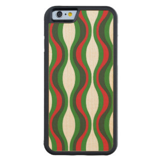 Christmas Pattern iPhone 6 wood case Carved® Maple iPhone 6 Bumper