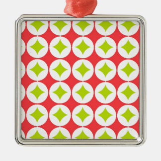 Christmas Pattern Metal Ornament