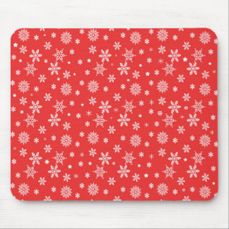 Christmas pattern mouse pad