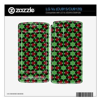 Christmas Pattern LG Vu Skins