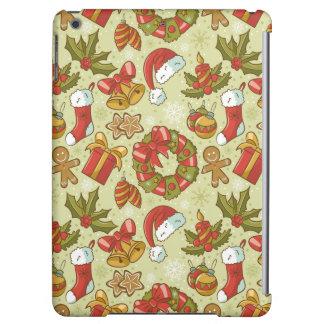 Christmas Pattern Vintage Style iPad Air Case