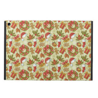 Christmas Pattern Vintage Style iPad Air Covers