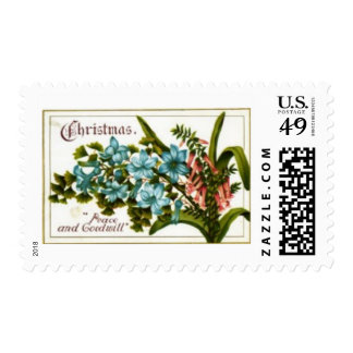 Christmas Peace and Goodwill Stamps