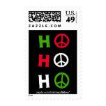 "Christmas Peace ""ho ho ho"" - Postage Stamps Postage Stamp"