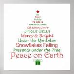 Christmas Peace on Earth Art Print