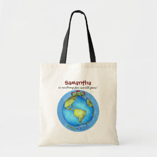 Christmas Peace on Earth Tote Bags