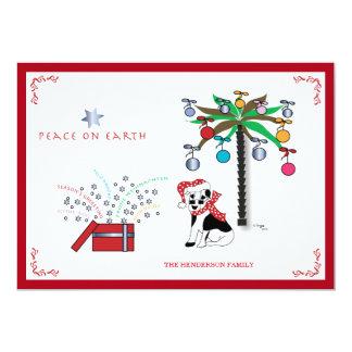 Christmas Peace on Earth - Multilingual Holiday Card