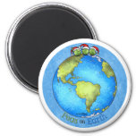 Christmas Peace on Earth Refrigerator Magnet