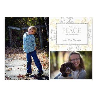 Christmas Peace Stars Card
