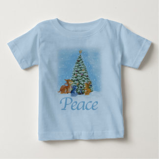 Christmas Peace Toddler Shirt
