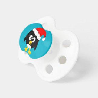 Christmas penguin baby dummy