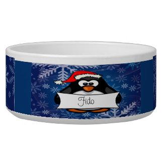 Christmas Penguin Bowl