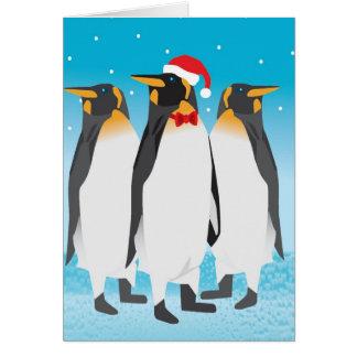 Christmas Penguin Card