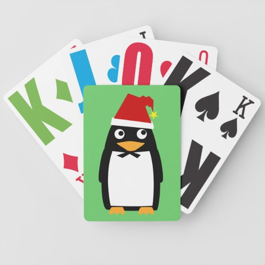 Christmas Penguin Card Deck