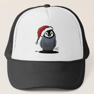 Christmas Penguin Chick Trucker Hat