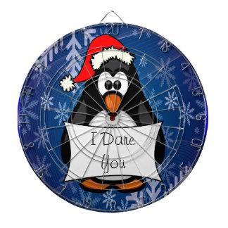 Christmas Penguin Dart Board