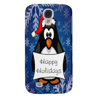 Christmas Penguin Galaxy S4 Cover