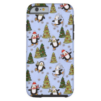 Christmas penguin iPhone 6 tough case Tough iPhone 6 Case