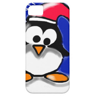 Christmas Penguin iPhone SE/5/5s Case