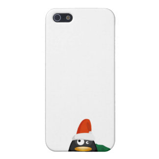 Christmas Penguin iPhone SE/5/5s Case