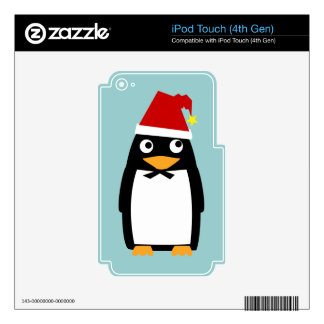 Christmas Penguin iPod Touch 4G Decal