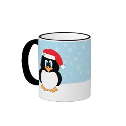 Christmas Penguin Mug mug
