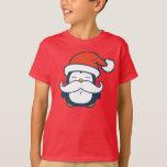 Christmas Penguin Mustache Trend T-Shirt