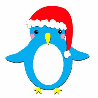 Christmas Penguin Photo Cutout