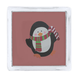 Christmas Penguin Pin
