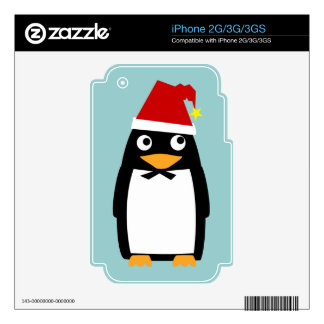 Christmas Penguin Skins For The iPhone 3GS