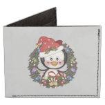 Christmas Penguin Tyvek Wallet
