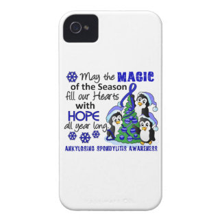 Christmas Penguins Ankylosing Spondylitis AS iPhone 4 Covers