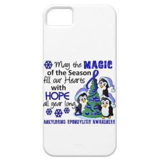 Christmas Penguins Ankylosing Spondylitis AS iPhone 5 Cases