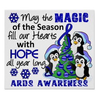 Christmas Penguins ARDS Print