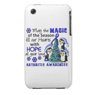 Christmas Penguins Arthritis iPhone 3 Covers