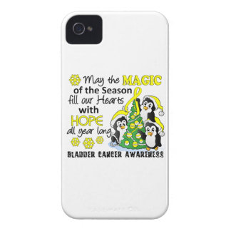 Christmas Penguins Bladder Cancer iPhone 4 Covers