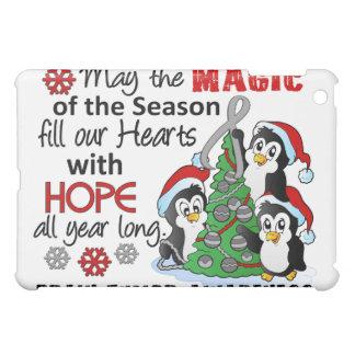 Christmas Penguins Brain Tumor iPad Mini Case
