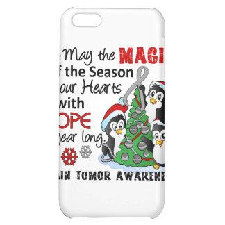 Christmas Penguins Brain Tumor iPhone 5C Covers